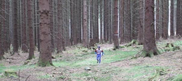 malý Filip vo veľkom lese