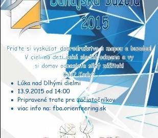 Leták Dunajská buzola 2015