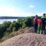 hlavný hrebeň pri Dunaji