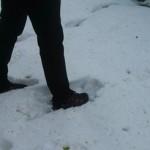 snehu je takmer na bežky